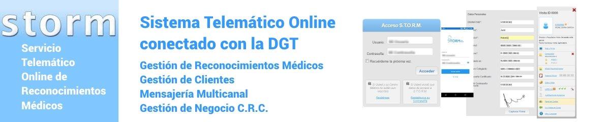 S.T.O.R.M - Sistema Telemático Online conectado con la DGT