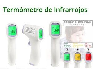 Imagen de Termómetro de infrarrojos HTD8813